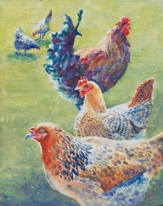 Chicken Sampler by Maryann Stow