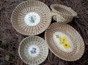 Pine Needle Basket Weaving by Pines and Pots
