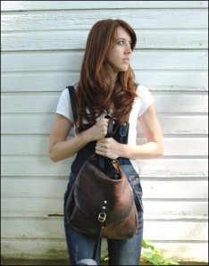 Mail bag by Lock n' Key Leathers